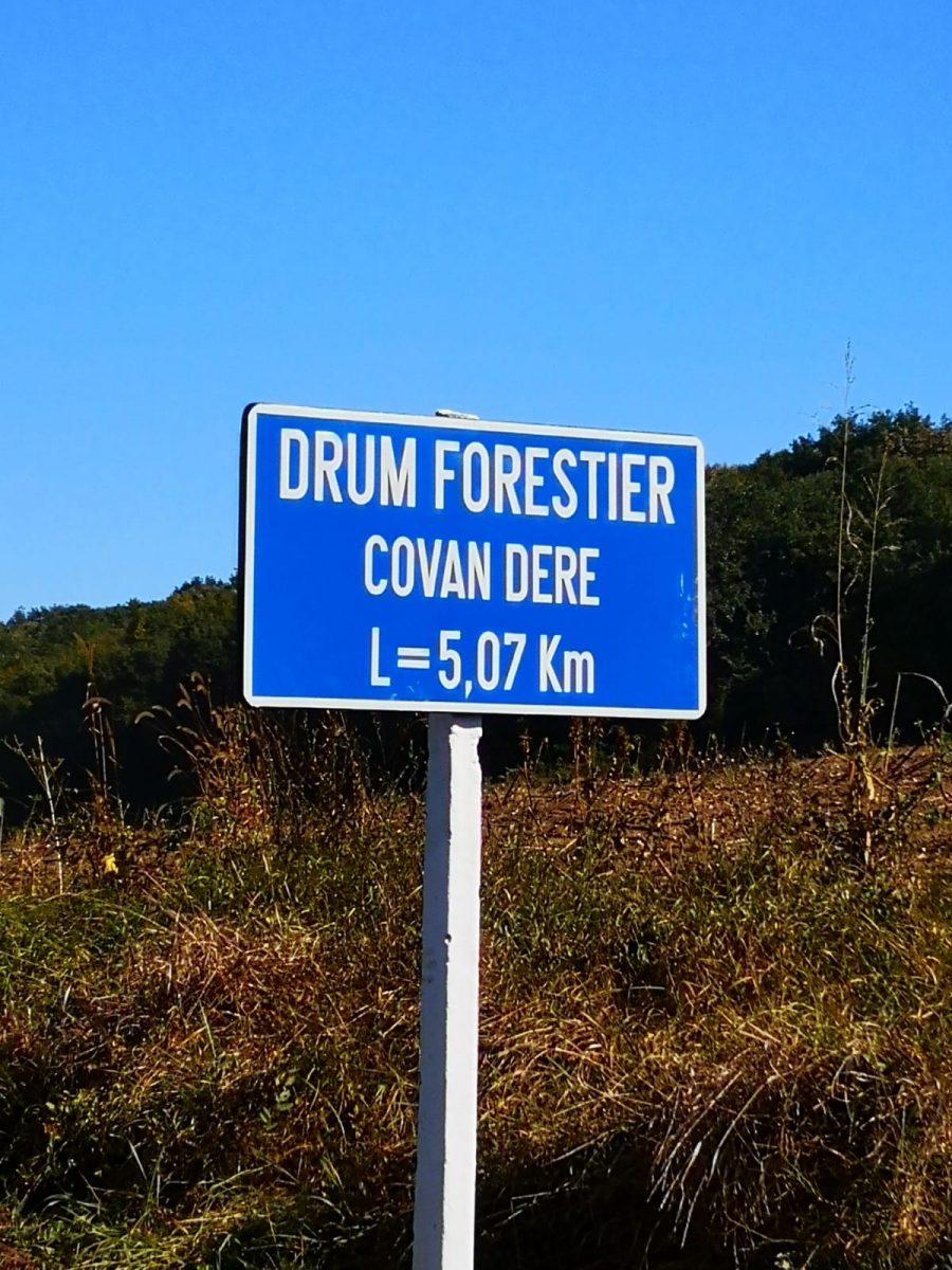 Recepție la terminarea lucrărilor de reabilitare a drumurilor forestiere
